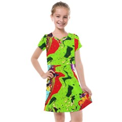 Untitled Island 3 Kids  Cross Web Dress
