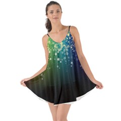 Colorful Space Rainbow Stars Love The Sun Cover Up Clone