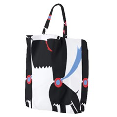 Dog Scottish Terrier Scottie Giant Grocery Zipper Tote