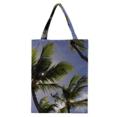 Palm Trees Tropical Beach Scenes Coastal   Classic Tote Bag by CrypticFragmentsColors