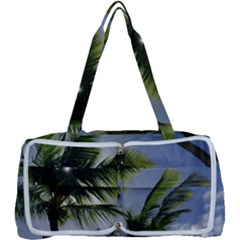 Palm Trees Tropical Beach Scenes Coastal   Multi Function Bag