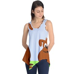 Animals Dogs Mutts Dog Pets Sleeveless Tunic