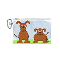 Animals Dogs Mutts Dog Pets Canvas Cosmetic Bag (small)