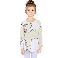 Poodle Dog Breed Cute Adorable Kids  Long Sleeve Tee