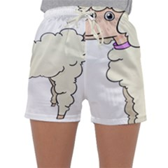 Poodle Dog Breed Cute Adorable Sleepwear Shorts