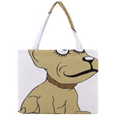 Dog Cute Sitting Puppy Pet Mini Tote Bag by Nexatart