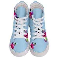 Woman Girl Lady Female Young Women s Hi Top Skate Sneakers