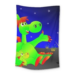 Dragon Grisu Mythical Creatures Small Tapestry by Nexatart