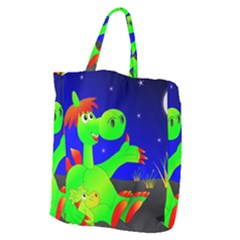 Dragon Grisu Mythical Creatures Giant Grocery Zipper Tote