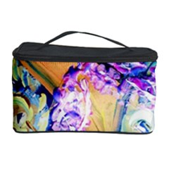 Blue Lilac On A Countertop 3 Cosmetic Storage Case by bestdesignintheworld