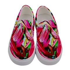 Flamingo   Child Of Dawn 5 Women s Canvas Slip Ons