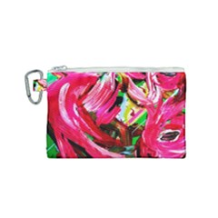 Flamingo   Child Of Dawn 5 Canvas Cosmetic Bag (small) by bestdesignintheworld