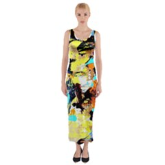 Fragrance Of Kenia 4 Fitted Maxi Dress