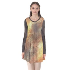 Golden Goddess Tech Gina Dress