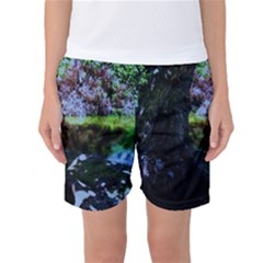 Hot Day In Dallas 32 Women s Basketball Shorts by bestdesignintheworld