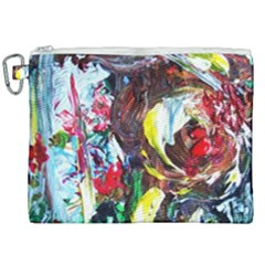 Eden Garden 12 Canvas Cosmetic Bag (xxl) by bestdesignintheworld