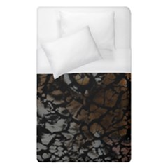 Earth Texture Tiger Shades Duvet Cover (single Size) by LoolyElzayat