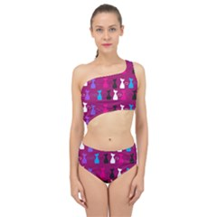 Cats Spliced Up Two Piece Swimsuit