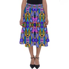 Artwork By Patrick Colorful 48 Perfect Length Midi Skirt
