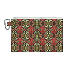 Artwork By Patrick Colorful 49 Canvas Cosmetic Bag (large) by ArtworkByPatrick