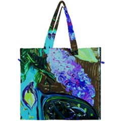 Lilac And Lillies 1 Canvas Travel Bag