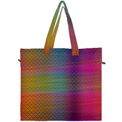 Colorful Sheet Canvas Travel Bag by LoolyElzayat