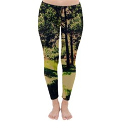 Hot Day In Dallas 25 Classic Winter Leggings by bestdesignintheworld
