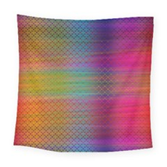 Colorful Sheet Square Tapestry (large) by LoolyElzayat