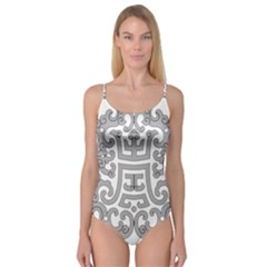 Chinese Traditional Pattern Camisole Leotard  by Nexatart