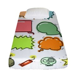 Set Collection Balloon Image Fitted Sheet (single Size)