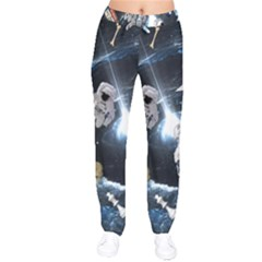 We Found Laika Velvet Drawstring Pants