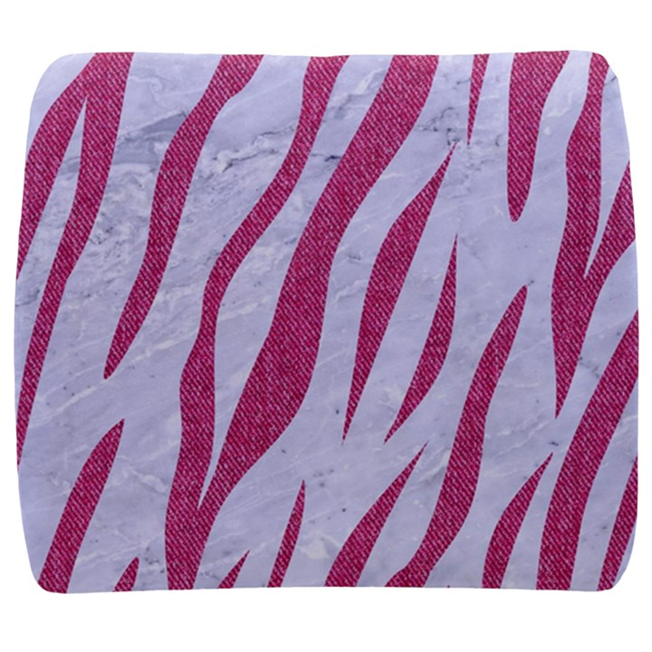 SKIN3 WHITE MARBLE & PINK DENIM (R) Back Support Cushion