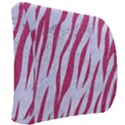 SKIN3 WHITE MARBLE & PINK DENIM (R) Back Support Cushion View2