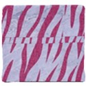 SKIN3 WHITE MARBLE & PINK DENIM (R) Back Support Cushion View4