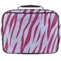 SKIN3 WHITE MARBLE & PINK DENIM (R) Full Print Lunch Bag View2