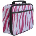 SKIN3 WHITE MARBLE & PINK DENIM (R) Full Print Lunch Bag View3