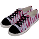 SKIN3 WHITE MARBLE & PINK DENIM (R) Men s Low Top Canvas Sneakers View2