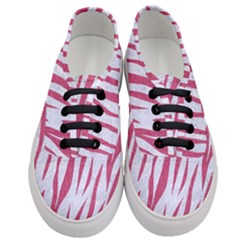 Skin3 White Marble & Pink Denim (r) Women s Classic Low Top Sneakers