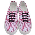 SKIN3 WHITE MARBLE & PINK DENIM (R) Women s Classic Low Top Sneakers View1