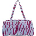 SKIN3 WHITE MARBLE & PINK DENIM (R) Multi Function Bag	 View1