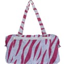 SKIN3 WHITE MARBLE & PINK DENIM (R) Multi Function Bag	 View2