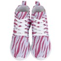 SKIN3 WHITE MARBLE & PINK DENIM (R) Women s Lightweight High Top Sneakers View1