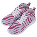 SKIN3 WHITE MARBLE & PINK DENIM (R) Women s Lightweight High Top Sneakers View2