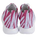 SKIN3 WHITE MARBLE & PINK DENIM (R) Women s Lightweight High Top Sneakers View4
