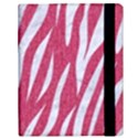 SKIN3 WHITE MARBLE & PINK DENIM Samsung Galaxy Tab 10.1  P7500 Flip Case View3