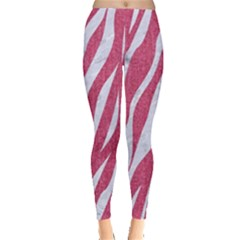 SKIN3 WHITE MARBLE & PINK DENIM Leggings