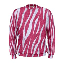 SKIN3 WHITE MARBLE & PINK DENIM Men s Sweatshirt