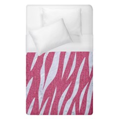 SKIN3 WHITE MARBLE & PINK DENIM Duvet Cover (Single Size)