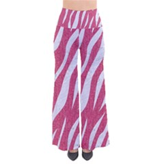 SKIN3 WHITE MARBLE & PINK DENIM So Vintage Palazzo Pants