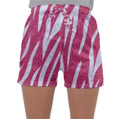 SKIN3 WHITE MARBLE & PINK DENIM Sleepwear Shorts